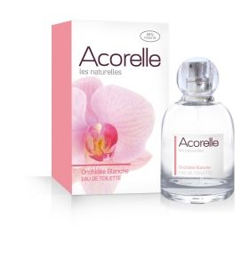 Acorelle - Натурална тоалетна вода, White Orchid, 50 мл.