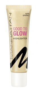 Manhattan Cosmetics - Хайлайтър GOOD TO GLOW, 25 мл.