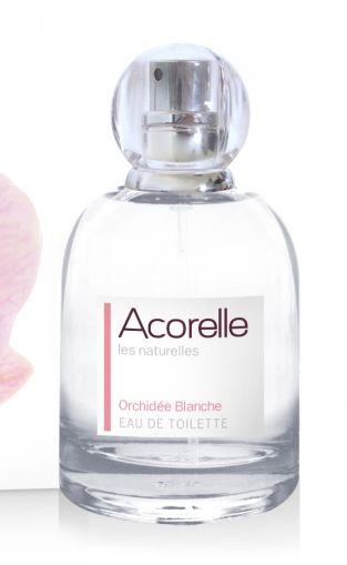 Acorelle - Натурална тоалетна вода, White Orchid*, 50 мл.